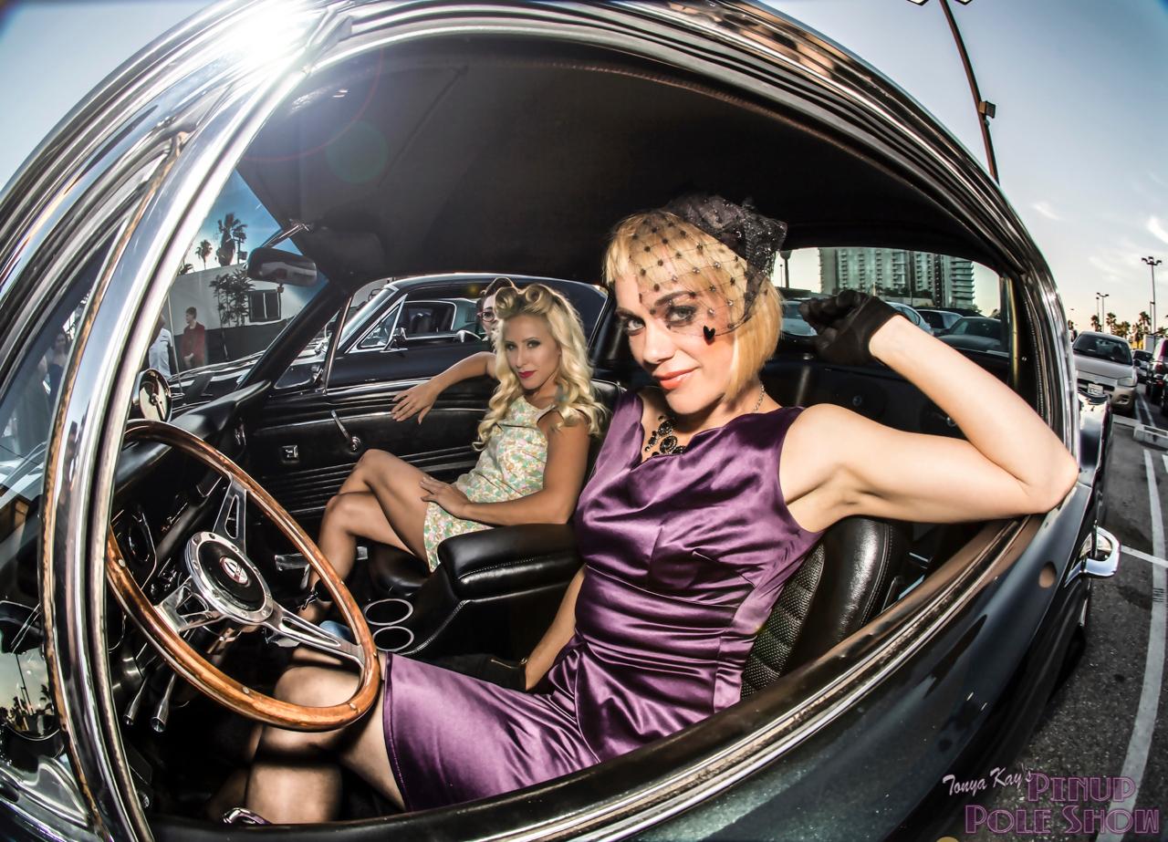 Tonya Kay S Pinup Pole Show 187 Classic Car Show And Pinup