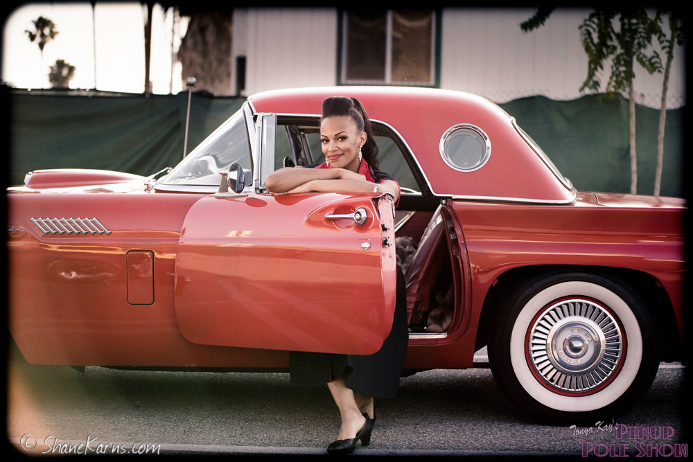 Car Names For Girls: Tonya Kay's Pinup Pole Show » Classic Car Show And Pinup
