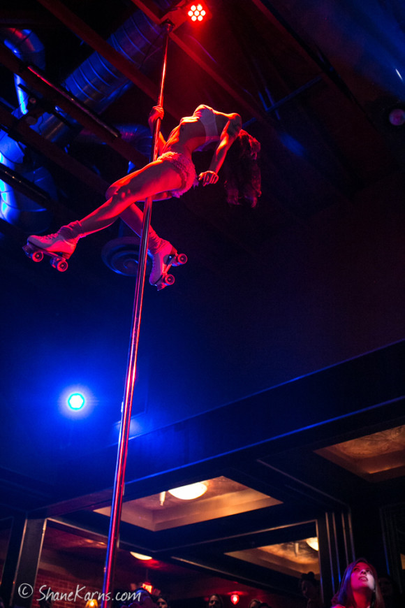 photo of Vegan Pole Dancer by Shane Karns on Platinum Stages for Pinup Pole Show