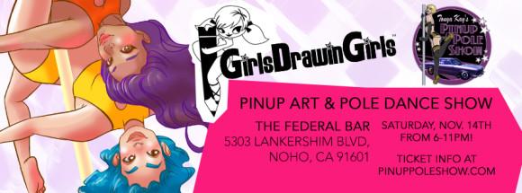 banner_girlsdrawingirls_pinuppoleshow